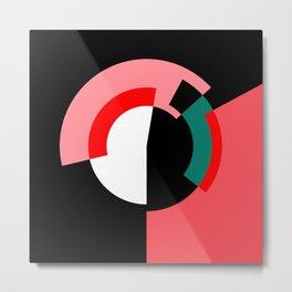 """Spioncino (della serie """"La Teoria del Colore"""") Metal Print"""