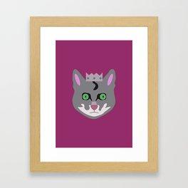 Royal Cat Framed Art Print