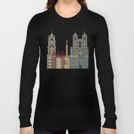 Sucre skyline poster Long Sleeve T-shirt