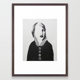 I'm not totally useless.I can be used as a bad example Framed Art Print
