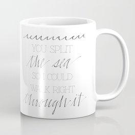 Split the Sea Coffee Mug