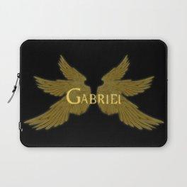 Archangel Gabriel Wings Laptop Sleeve
