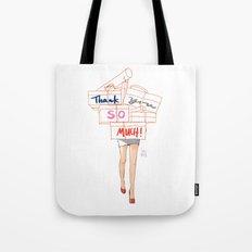Shopacholic Says Thank You Tote Bag