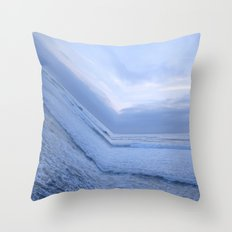 Surf's Up Sunset Point Throw Pillow