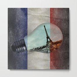 Tribute Paris Metal Print