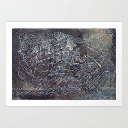 The Shipbuilders Art Print