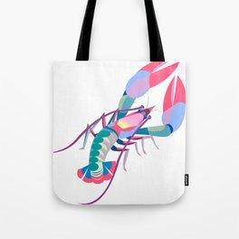 Pink Lobster Tote Bag