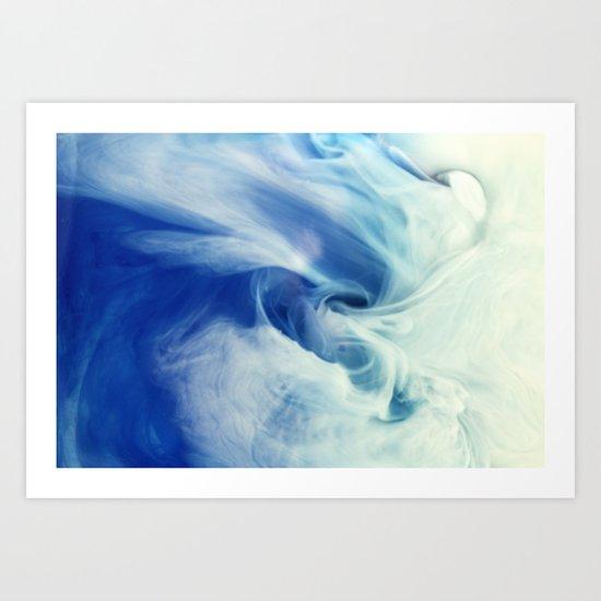 I bring the sea Art Print