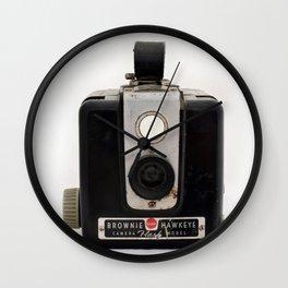 Brownie Camera Wall Clock
