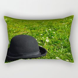 Tribute to Charlie Chaplin Rectangular Pillow
