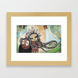 People of the Wind Framed Art Print