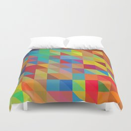 Meduzzle: Color Chaoses Duvet Cover