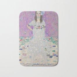 Mäda Primavesi by Gustav Klimt Bath Mat