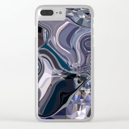 sapphires 2 Clear iPhone Case