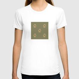 Five Paw Prints T-shirt