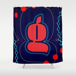 Space Gee Shower Curtain