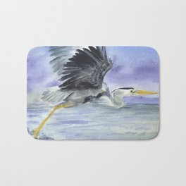 From Heron Out Bath Mat