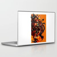 metal gear solid Laptop & iPad Skins featuring metal gear by ururuty