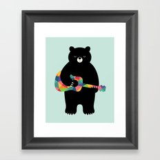 Happy Song Framed Art Print