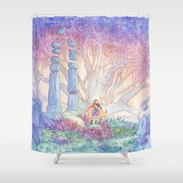 The Bard's Song Shower Curtain