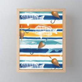 No Fishing Today Framed Mini Art Print