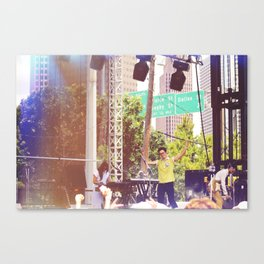 An Ernest Welcome (Washed Out) Canvas Print
