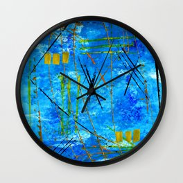 I got the blues Wall Clock