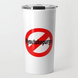 NoYouTubePurge Travel Mug