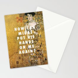 Gustav Klimt, ABB (1907) / Halsey, 100 Letters (2017) Stationery Cards