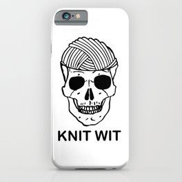 knitwit iPhone Case