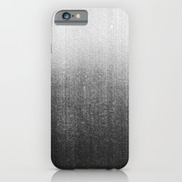 BLUR / abyss / black iPhone Case