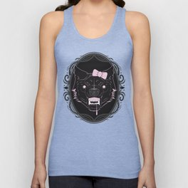 She-wolf Unisex Tank Top