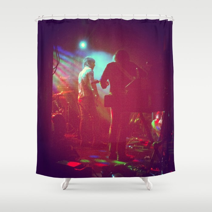 Rock N Roll Shower Curtain