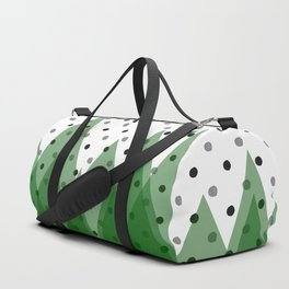 Christmas mountains Duffle Bag