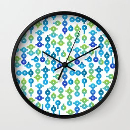 Chemistry Glass simple pattern Wall Clock