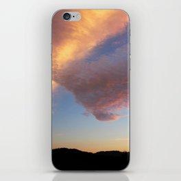 Pink V Cloud iPhone Skin