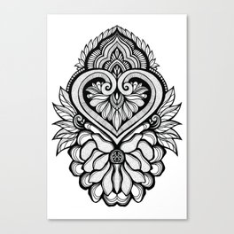 Sacred Flora Canvas Print