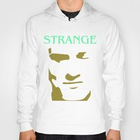 smiths Hoodies featuring Strange Strangeways (The Smiths inspired) by Trendy Youth