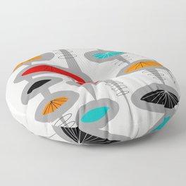 Mid-Century Modern Space Age 2 Floor Pillow