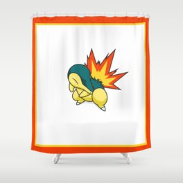 Cyndaquil #155 Shower Curtain