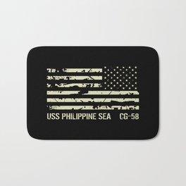 USS Philippine Sea Bath Mat