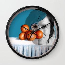 The ORANGEGIRL Wall Clock