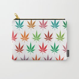 Pot leaves pattern Carry-All Pouch