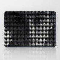 hepburn iPad Cases featuring Hepburn by Robotic Ewe