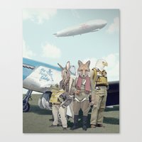 starfox Canvas Prints featuring SKYFOX (The Starfox Prequel). by John Medbury (LAZY J Studios)