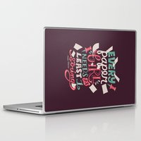 paper towns Laptop & iPad Skins featuring Paper Towns: Paper Girl by Risa Rodil