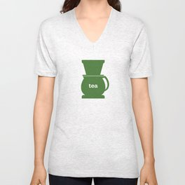 Tea/Coffee Unisex V-Neck