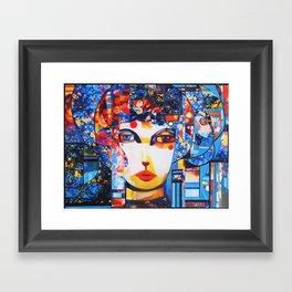 FLORA STUDY 4 Framed Art Print