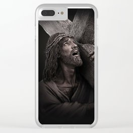 Savior Clear iPhone Case
