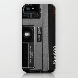 Instant camera Sun600 iPhone Case